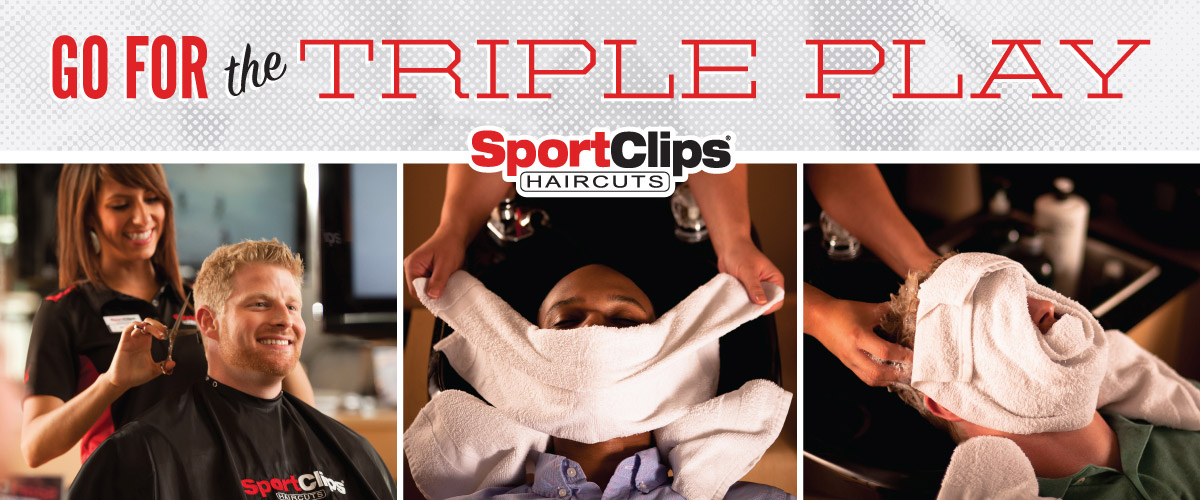 The Sport Clips Haircuts of Ocean Springs Triple Play